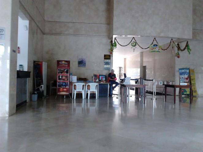 Titik pemeriksaan pengunjung