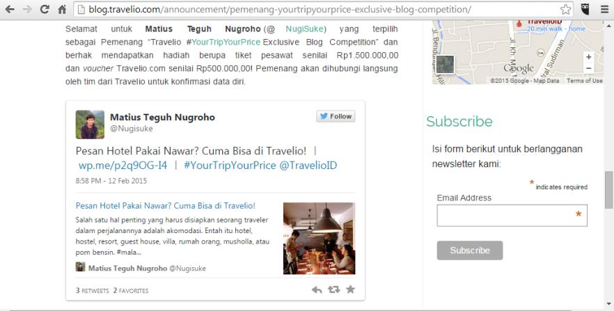 Nugie Travelio