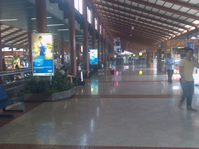 Suasana salah satu sudut Bandara Soekarno-Hatta