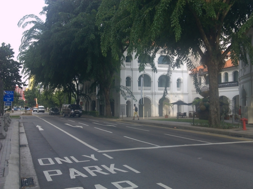Near the Singapore Art Museum (SAM)