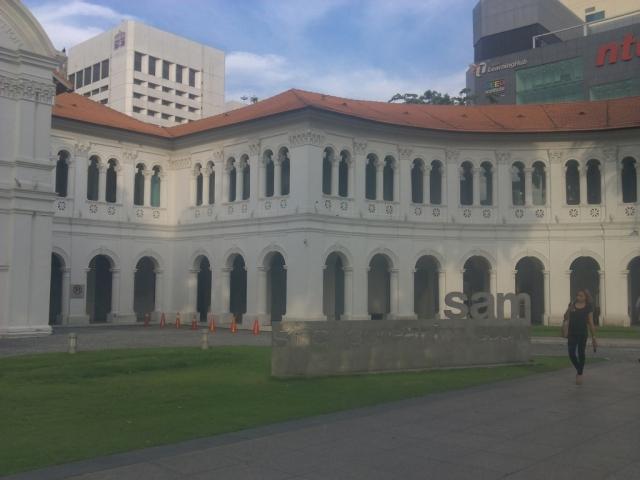 Singapore Art Museum (SAM) tampak depan