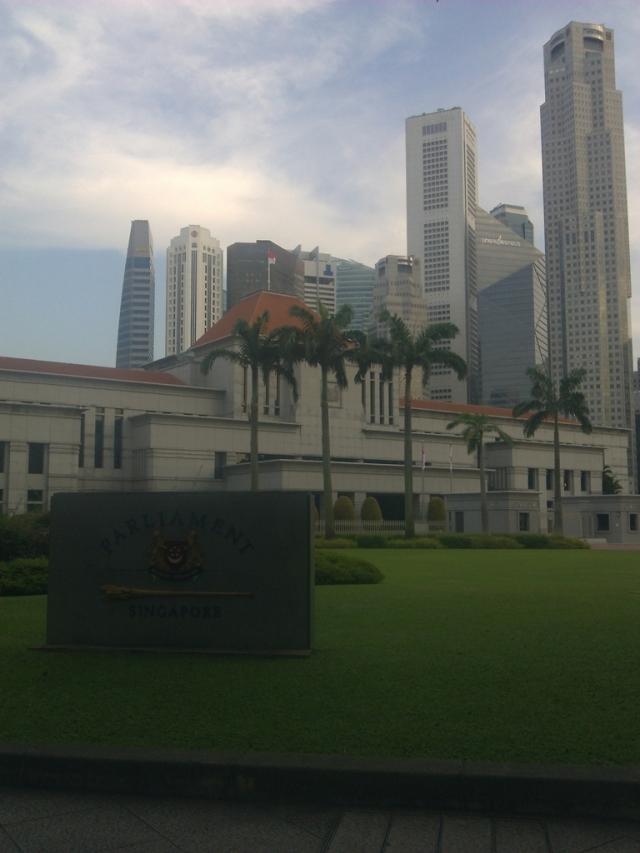 Gedung Parlemen Singapura