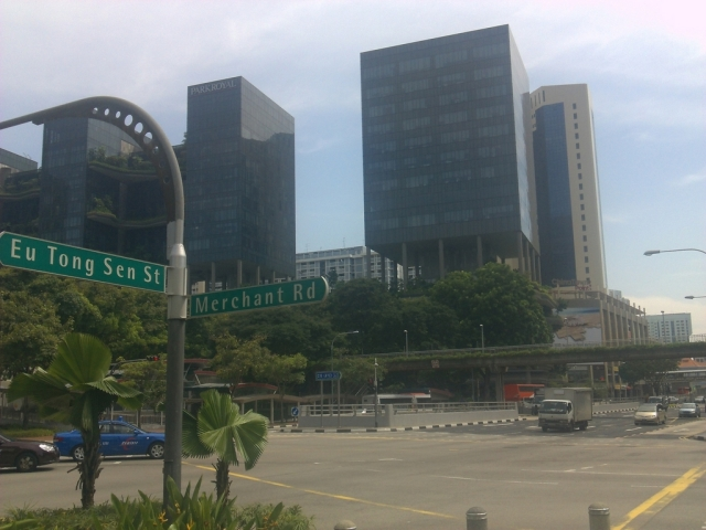 Eu Tong Sen Street junction