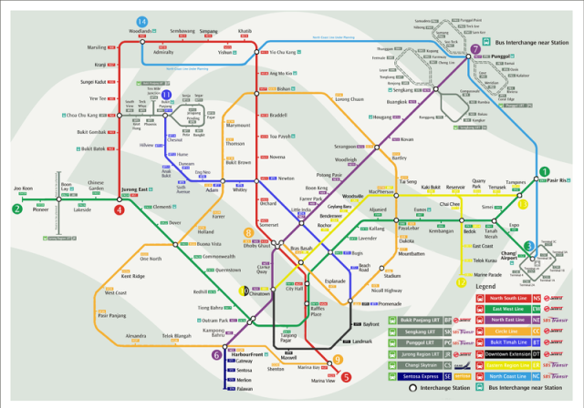 SMRT Map (originally from smrt.com.sg)