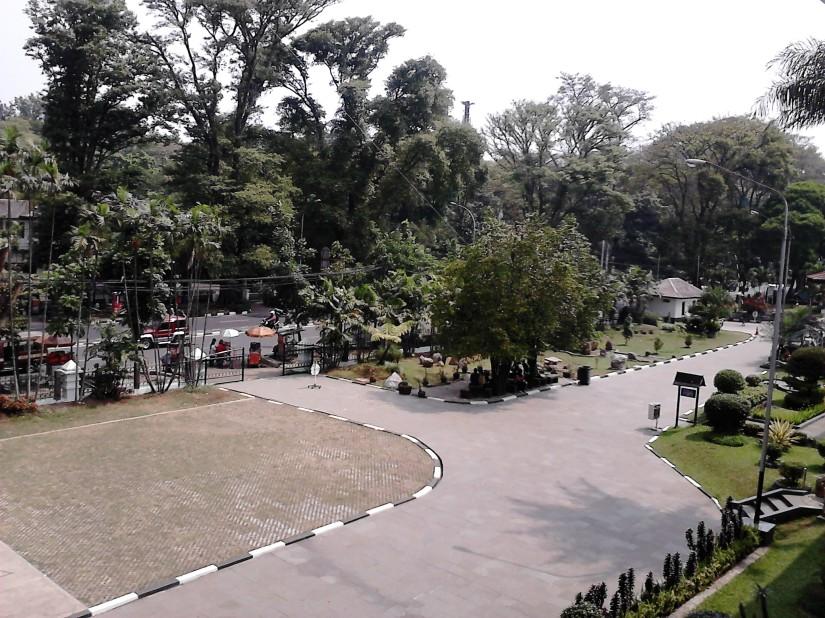 View dari lantai 2