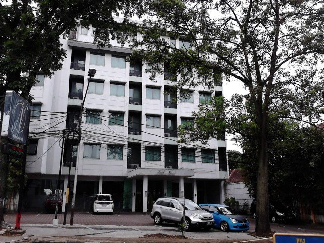 Naval Hotel Bandung tampak depan