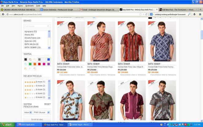 Batik Zalora