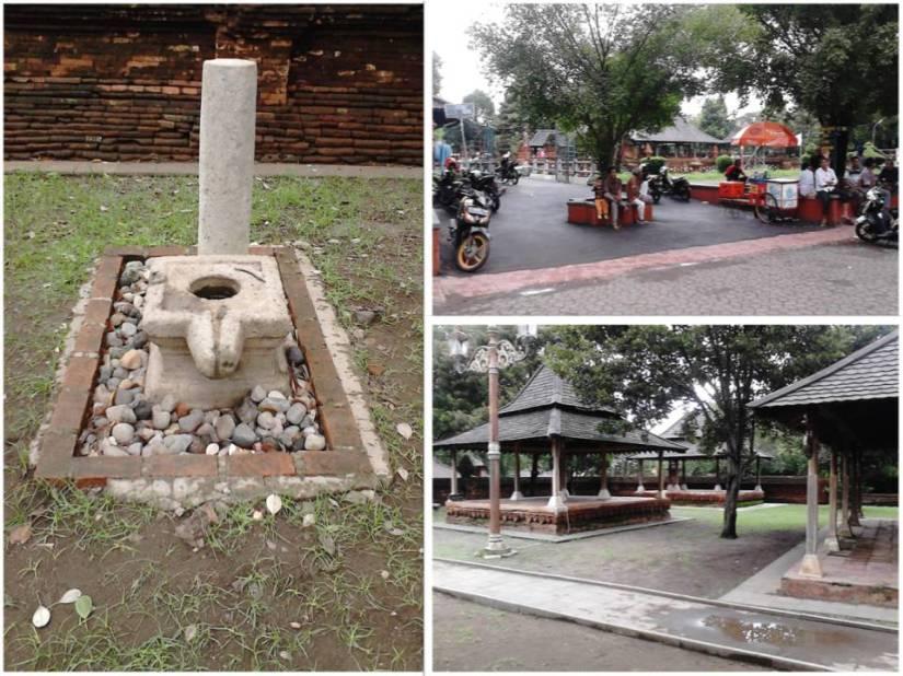 ki-ka at-ba: Linggayoni, bagian depan keraton, dan area Siti Inggil