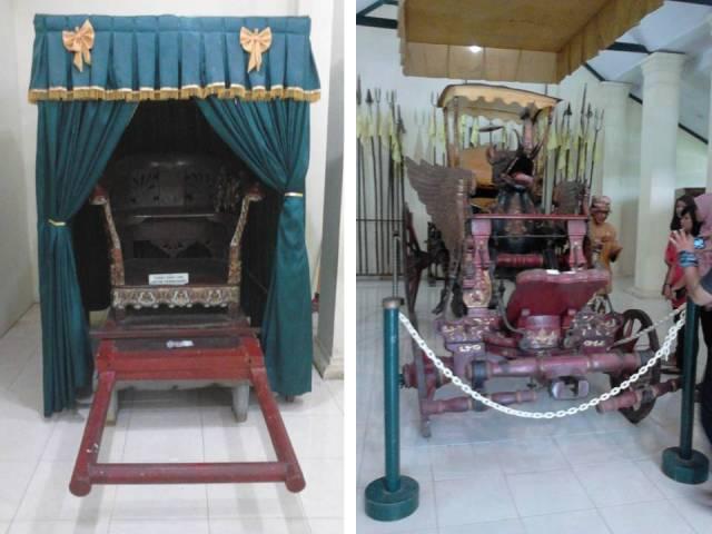 ki-ka: kursi permaisuri, kereta Singa Barong