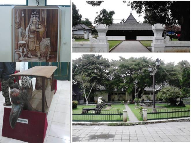 at-ba ki-ka: lukisan Prabu Siliwangi, kereta Garuda Mina, menuju Bangsal Kencana, taman Kutagara Wasadan