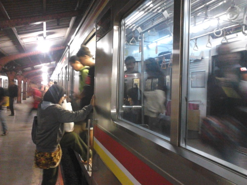 Hop on the Commuter Line, Jakarta