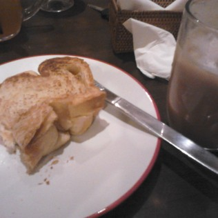 Kaya Toast dan Es Teh Tarik