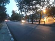 Temaram lampu jalanan yang syahdu