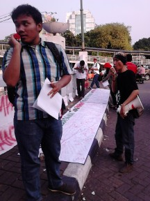 Aksi demonstrasi