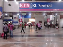 Stesen LRT RapidKL di KL Sentral