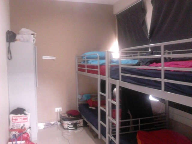 Our 4-bed dorm