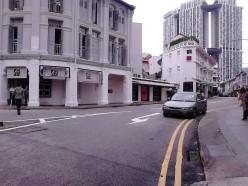 Memasuki Keong Saik Road