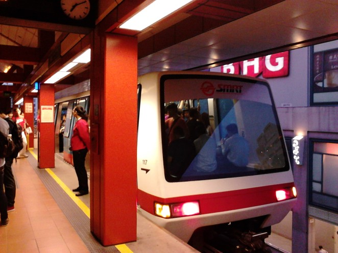 The LRT train