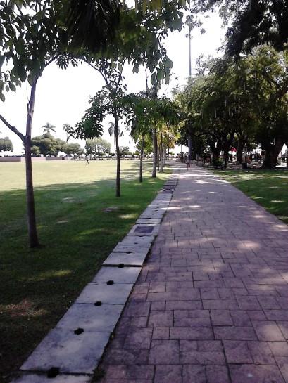 Pathway at Padang Kota Lama