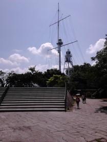 Tower inside the Fort Cornwallis