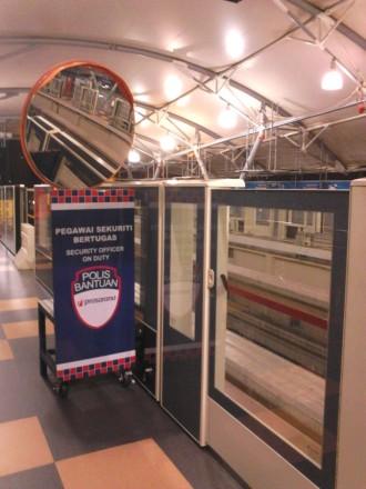 KL Monorail platform