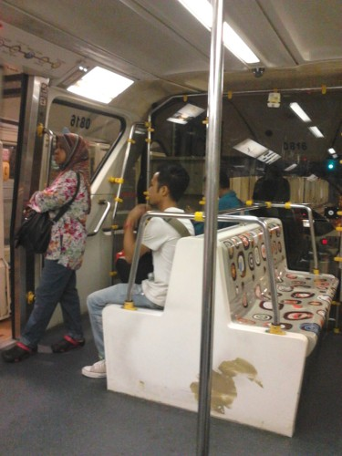 Inside the KL Monorail