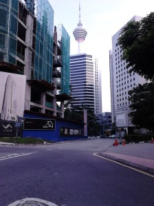 KL Tower from distance