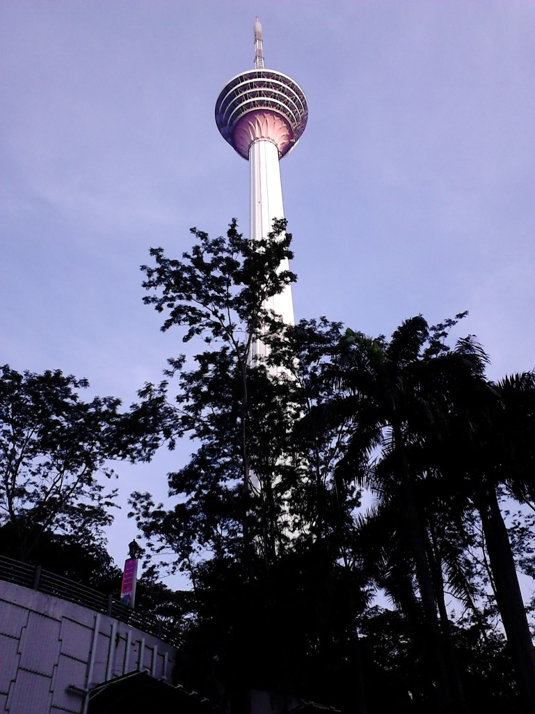 Approaching KL Tower