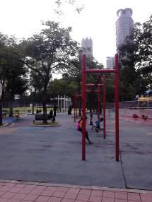 """Children playing """"Ayunan"""""""