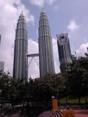 The three Petronas Towers