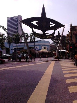 Kasturi Walk, right next to Central Market