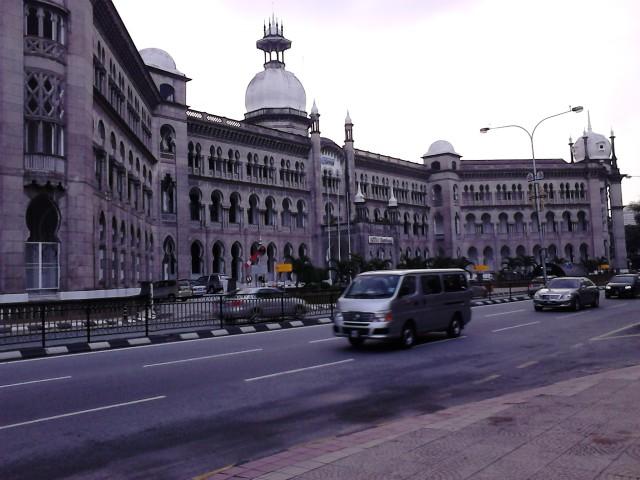 Bangunan KTM Berhad hasil jepretan gue