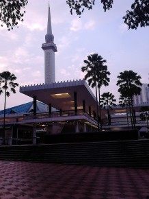 The mosque from different angle