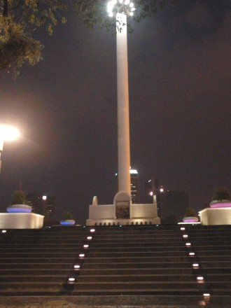 The 100-meters flagpole at Dataran Merdeka (Independent Square)