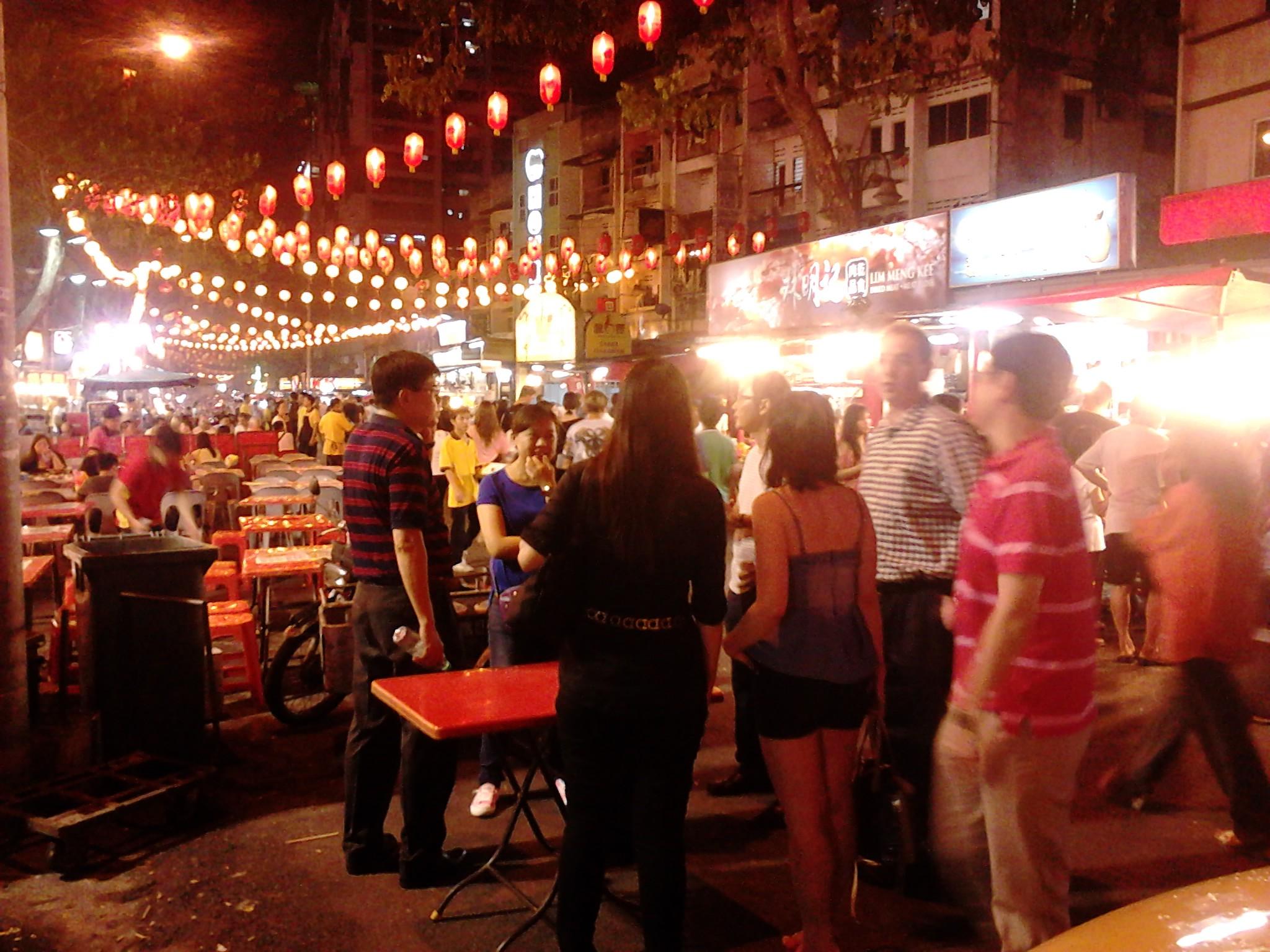 Makan Hura Hura Di Jalan Alor Bukit Bintang The Travelearn