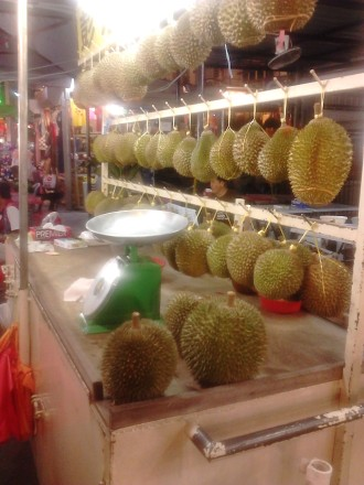 Durians! *vomit* *not a durians lover*