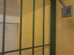 Secure entrance