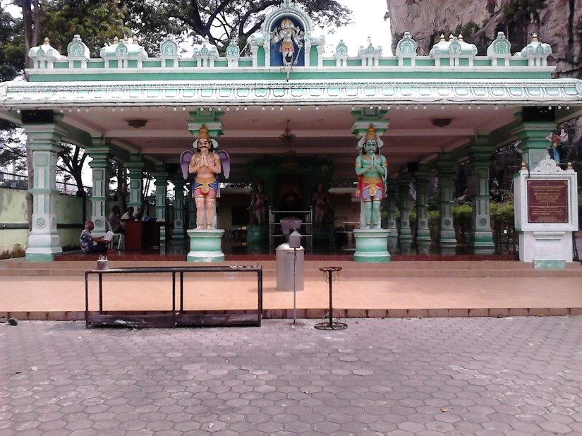 The Hanuman shrine