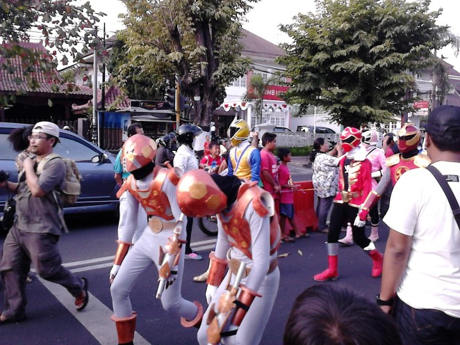 Komunitas cosplay (costume playing)