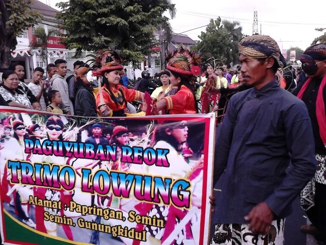 "Paguyuban Reog ""Trimo Lowung dari Semin, Gunung Kidul"