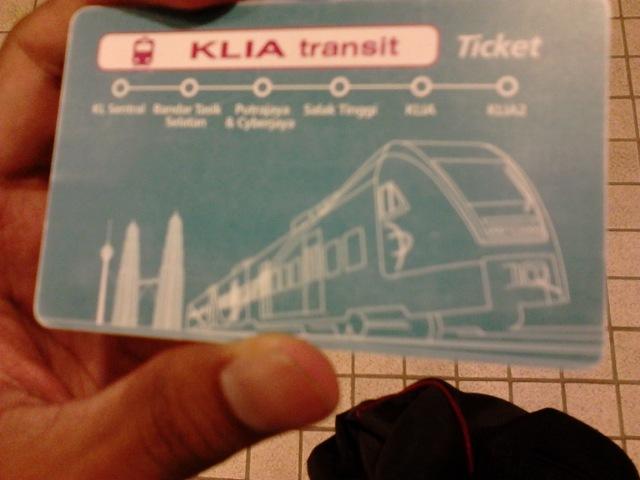 KLIA Transit card
