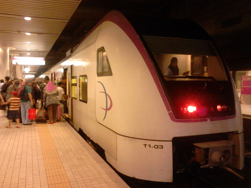 The KLIA Transit train