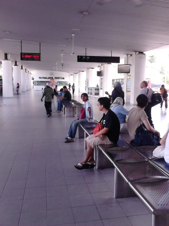 Passengers at Putrajaya Sentral