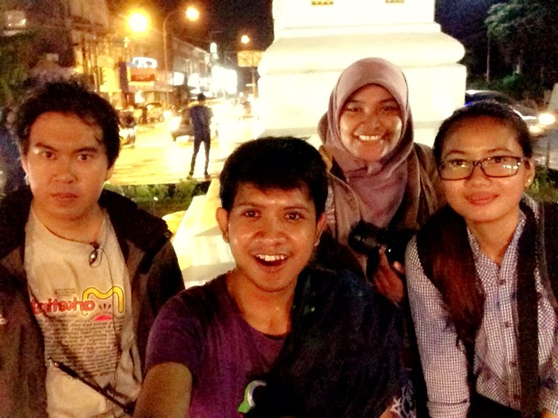 Because selfie at the front of The Tugu is cool!