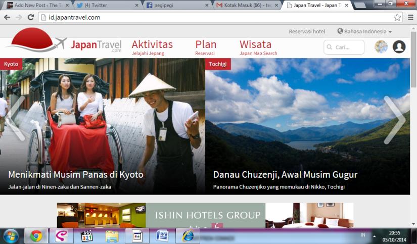 Laman Japan Travel ID