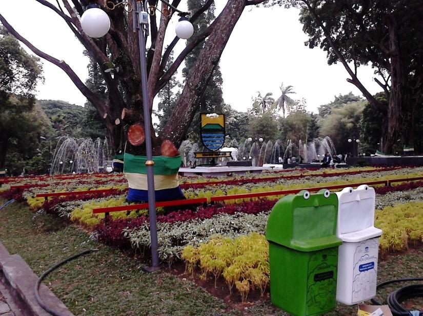 Taman Balai Kota Bandung yang cantik