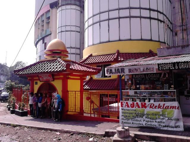 Masjid Al-Imtizaj yang bergaya Tiongkok