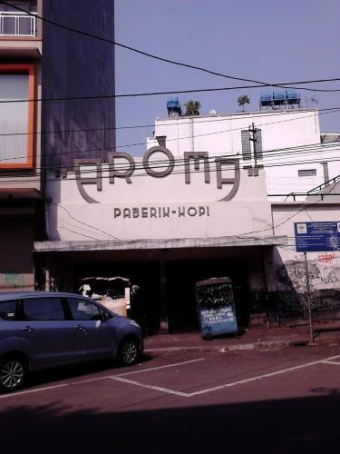 Fabriek Koffie Aroma