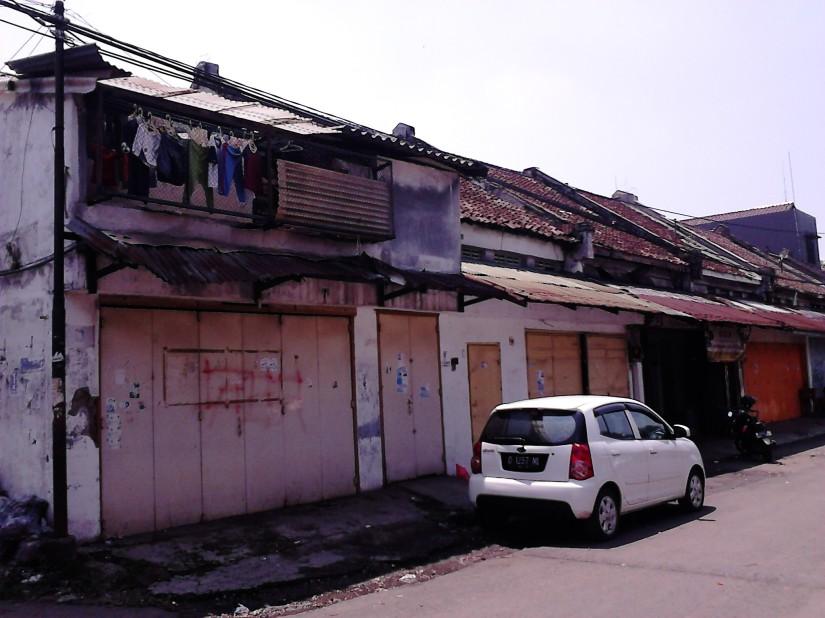 Rumah panjang kuno khas Tiongkok