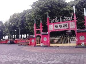 Gerbang Masuk Klenteng Sam Poo Kong